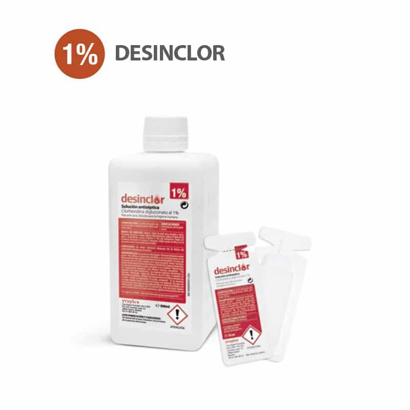 desinclor clorhexidina