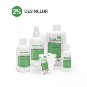 Desinclor Clorhexidina solución alcohólica 2%