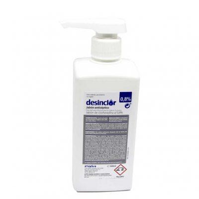 desinclor 0,8 solucion jabonosa