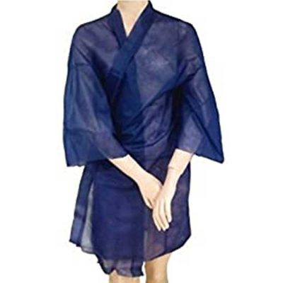 Bata kimono azul