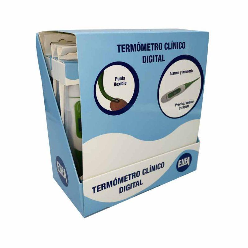 Termometro punta flexible