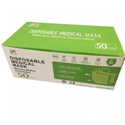 Mascarilla medica desechable IIR