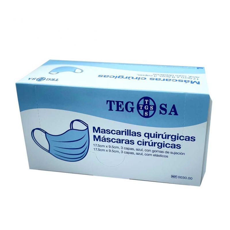 Mascarilla quirúrgica IIR 50 unid.