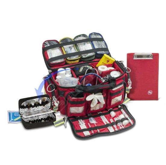 bolsa emergencias soporte vital básico