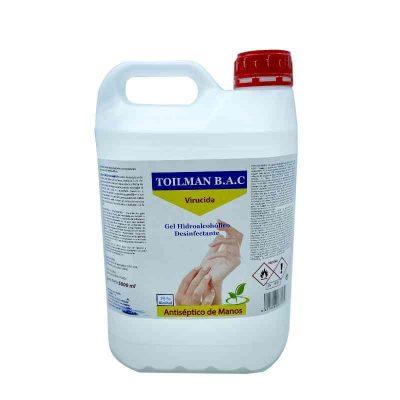 gel hidroalcoholico 5 litros