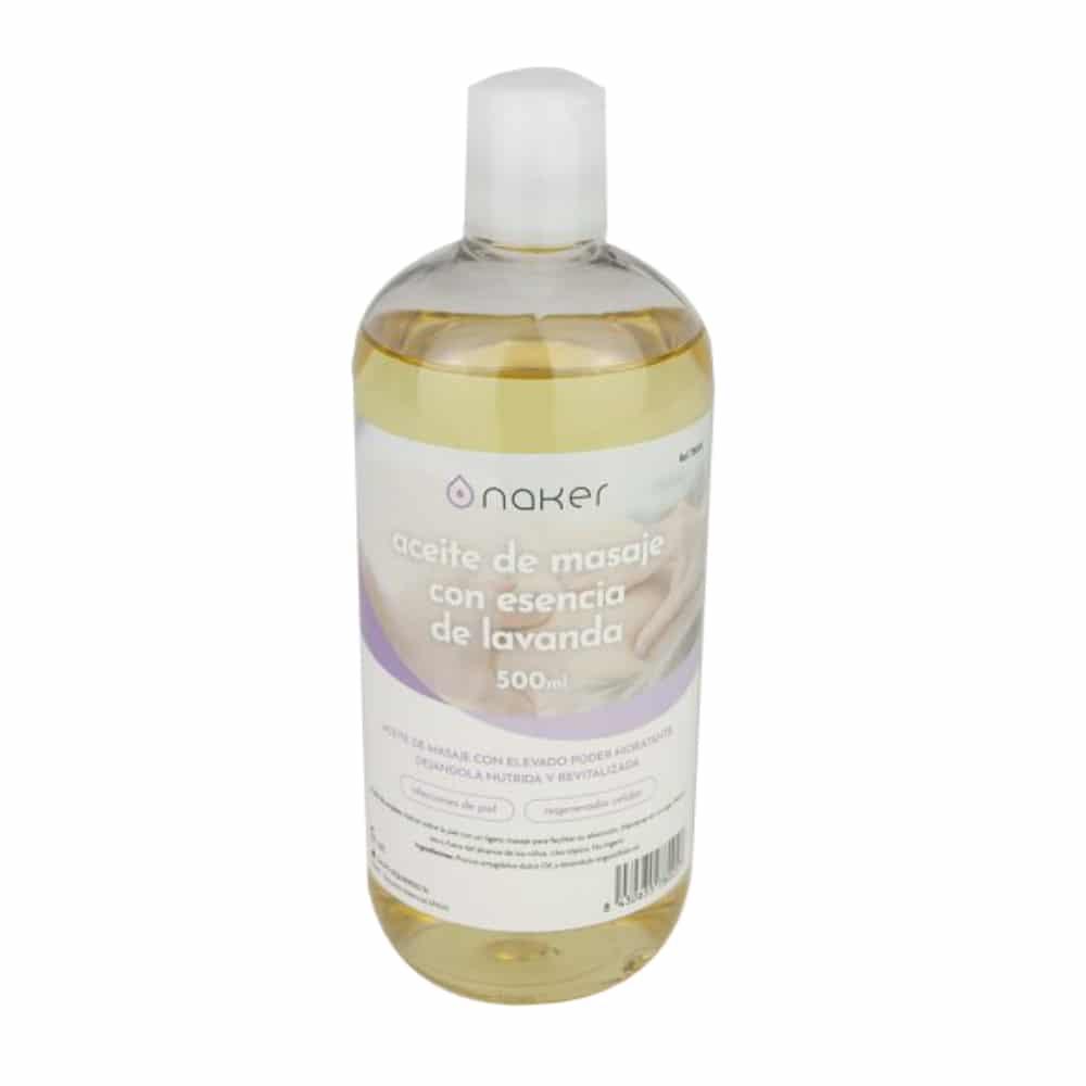 Aceite con esencia de lavanda