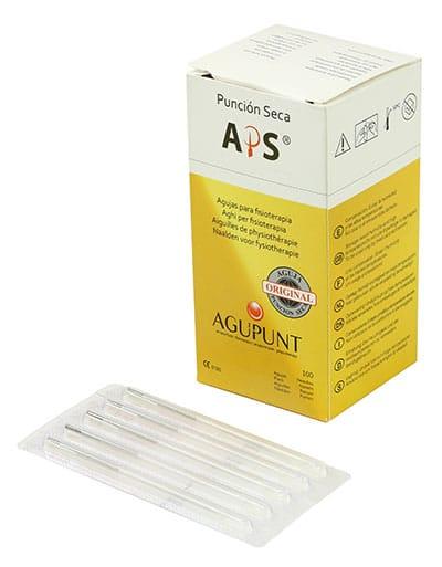 Aguja Puncion seca (APS) REGULAR 0.30x40 con guia (100 unid) BLANCO