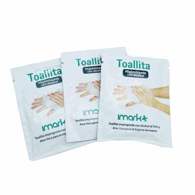 Toallitas higienizante para manos